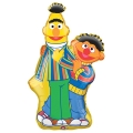 Sesame Street Bert &amp; Ernie Foil Balloon Super shape